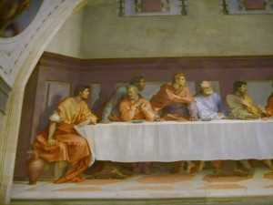 Cenacolo di Andrea del Sarto - parte SX