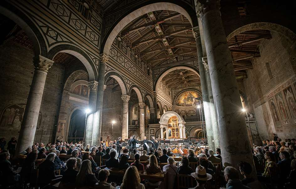 L'Homme Armé at the concert for the Millennium celebrations of S. Miniato- Firenze – 27 and 28 september 2018