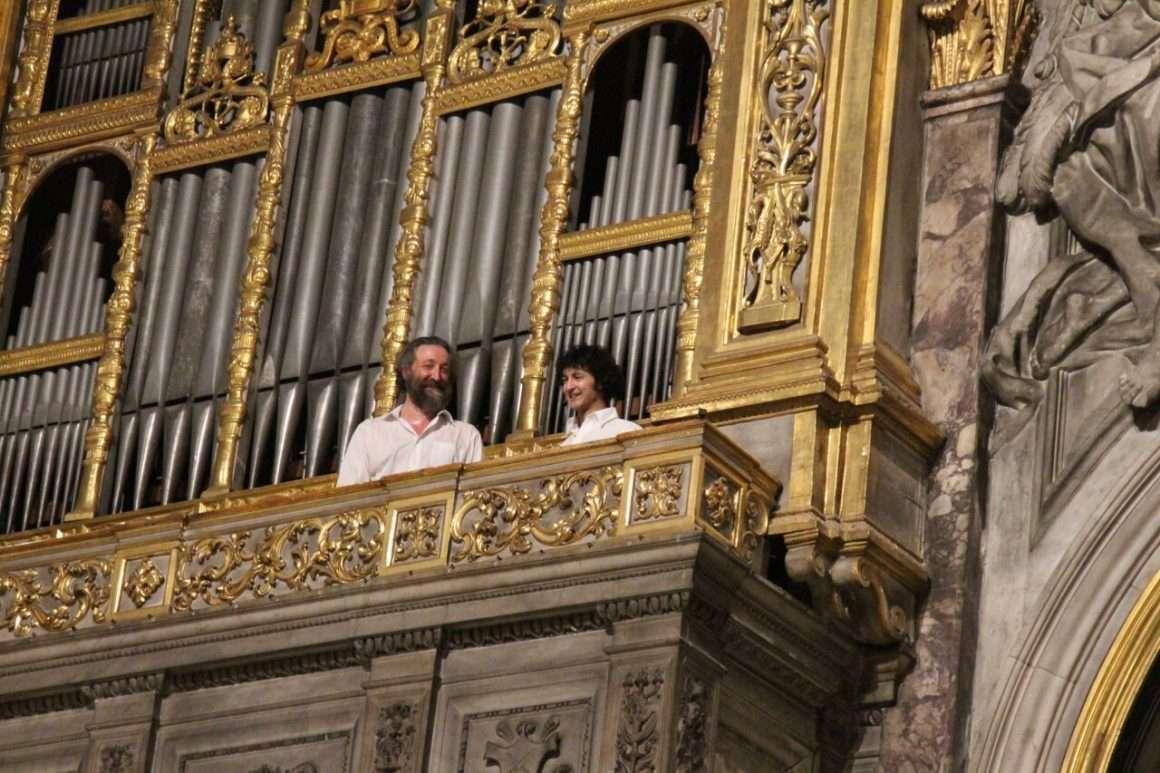 Andrea Inghisciano e Andrea Perugi al concerto FloReMus del 3 Settembre 2018