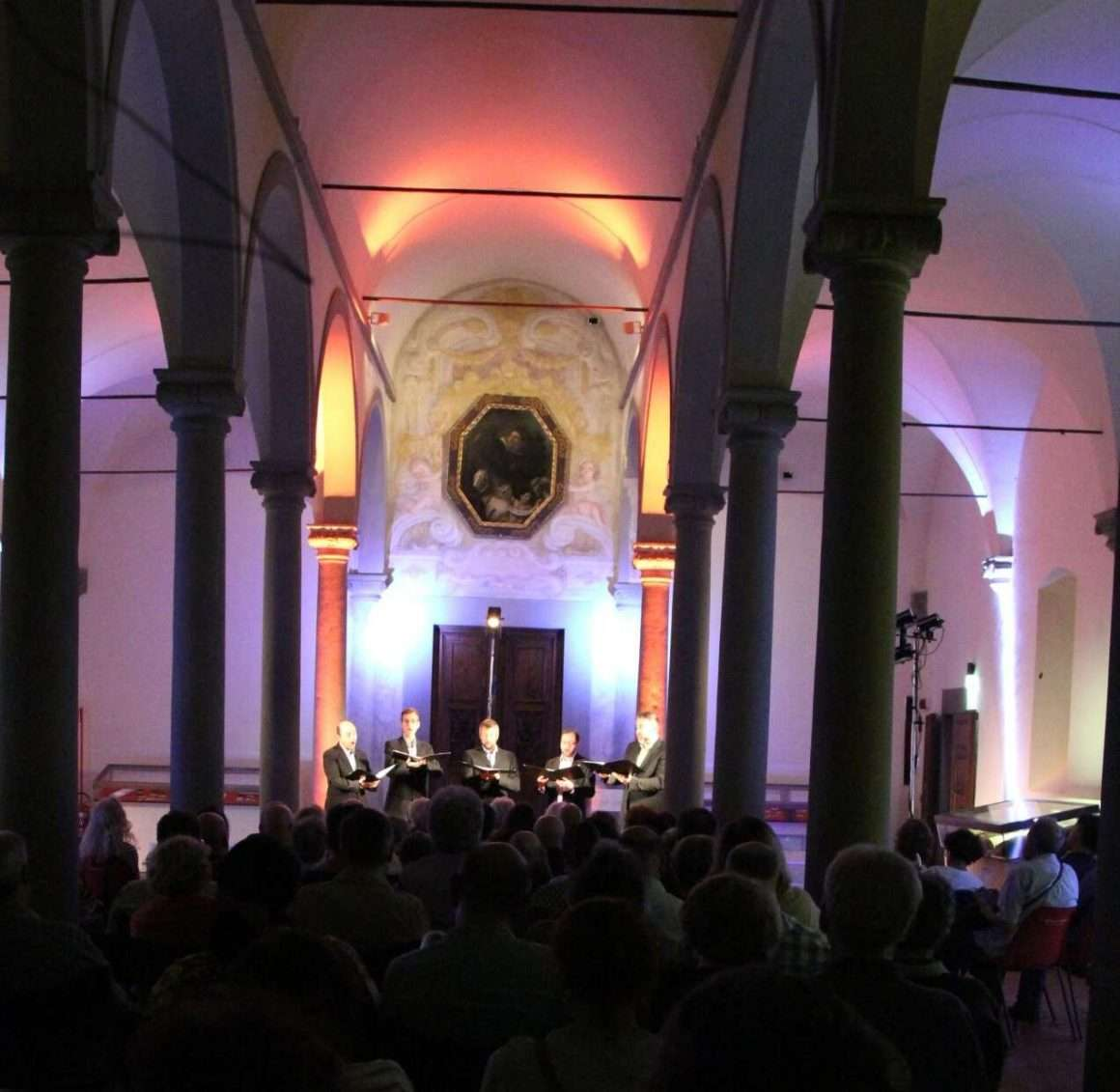 The Ensemble Cinquecento at the FloReMus concert of September 4, 2018