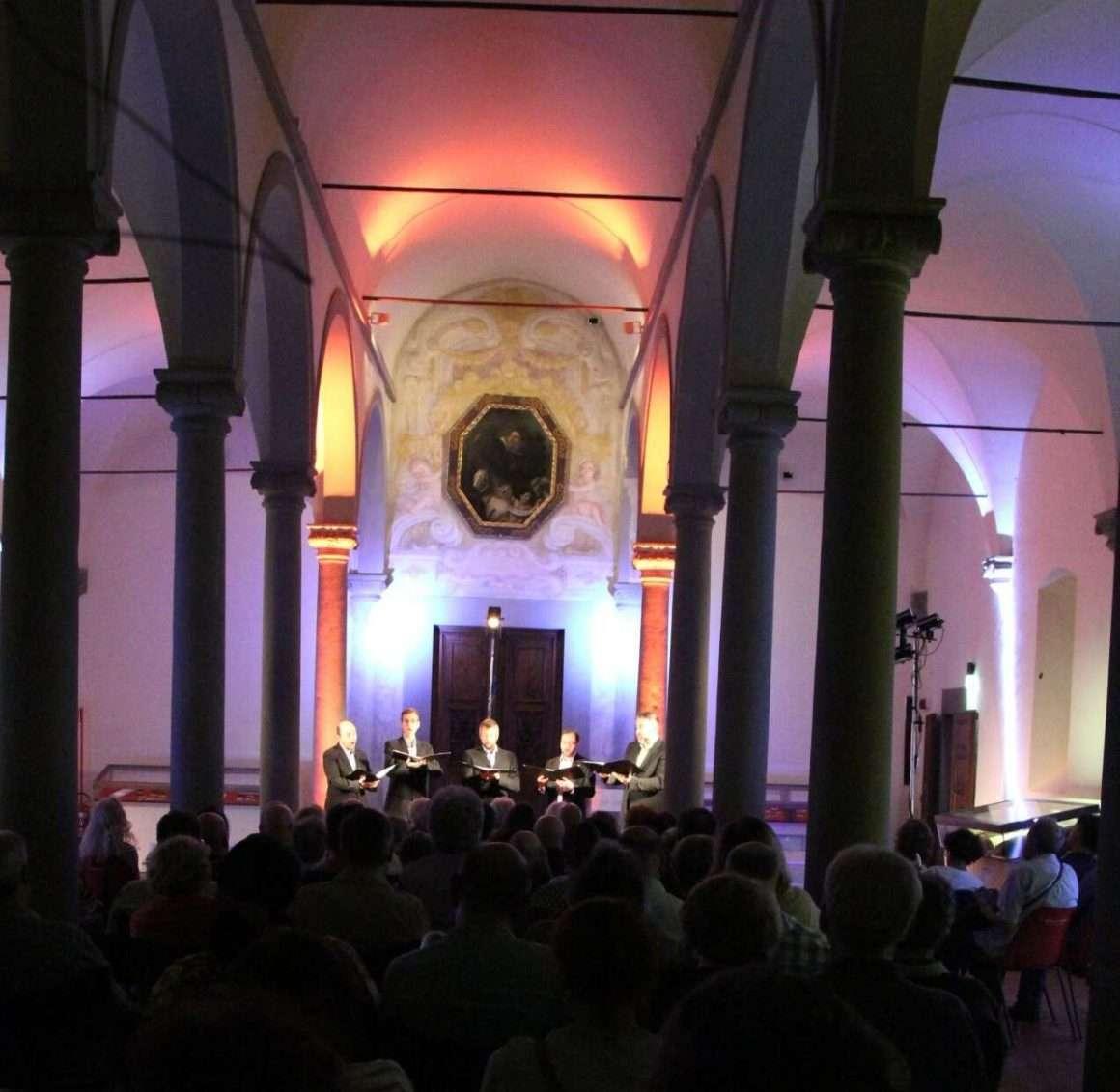 Ensemble Cinquecento al concerto FloReMus del 4 settembre 2018