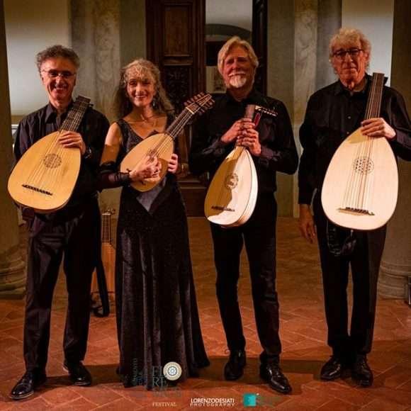 Il concerto dell'European Lute Quartet per FloReMus 2019