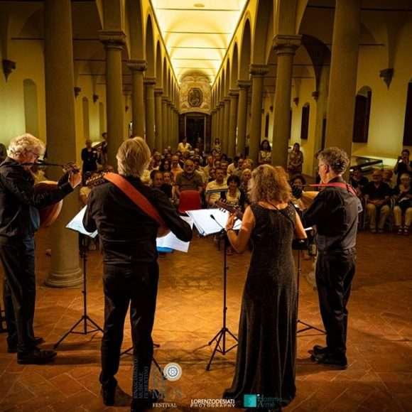 European Lute Quartet al concerto FloReMus del 3 settembre 2019
